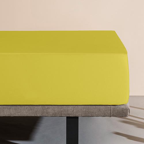 Sábana bajera impermeable Velfont, color pistacho