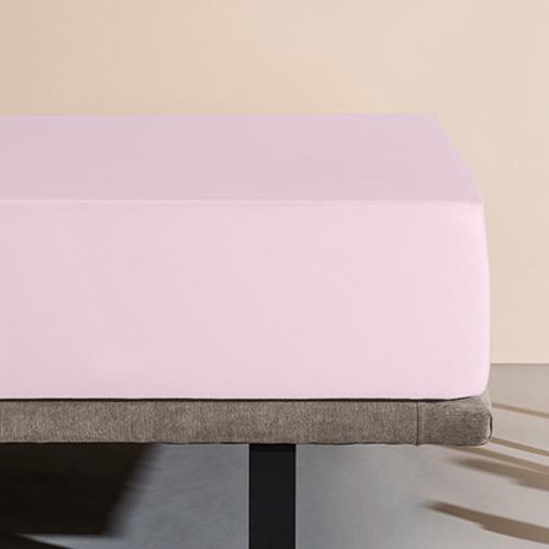 Sábana bajera impermeable Velfont, color rosa