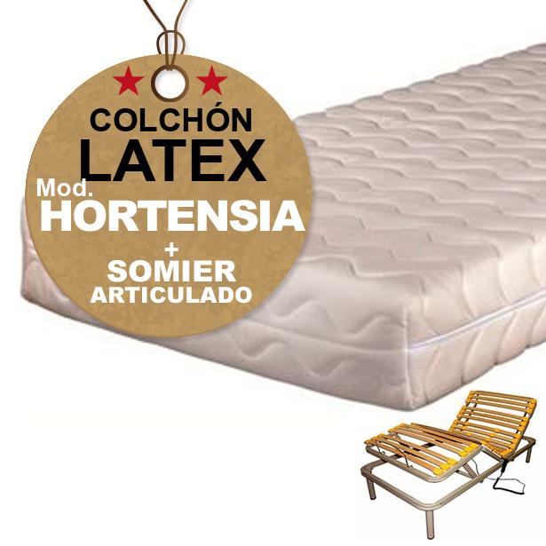 Colchon Somier Oferta.Somier Articulado Colchon Latex Oferta
