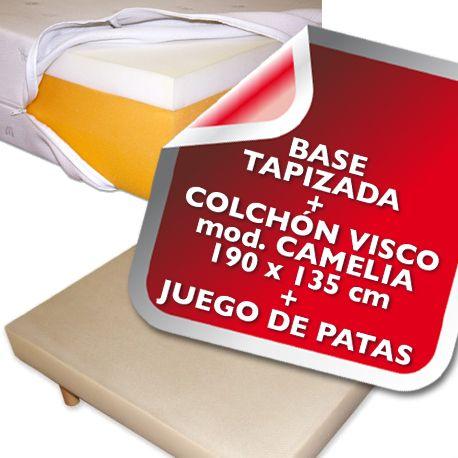 Base tapizada para colchon