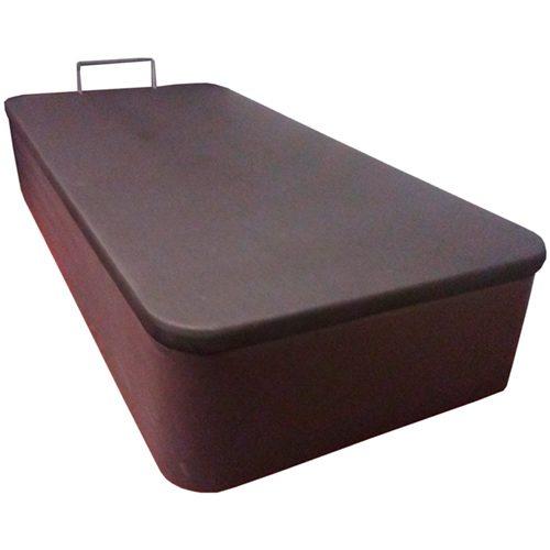 Canapé polipiel entero con apertura lateral.